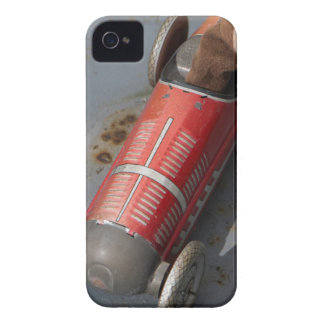 Monkey in a toy car iPhone 4 Case-Mate cases
