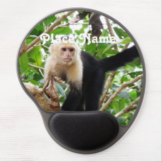 Monkey in Costa Rica Gel Mouse Mats