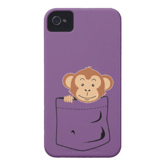 Monkey in pocket iPhone 4 Case-Mate case
