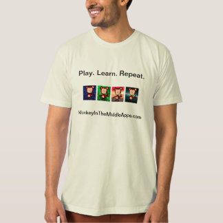 Monkey in the Middle Apps 4 icon T-shirt