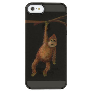 Monkey iPhone 5/5s Clearly™ Deflector Case