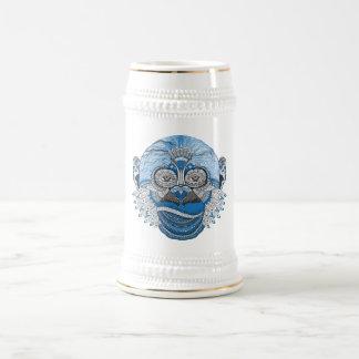 Monkey is, as Monkey Drinks Beer Stein