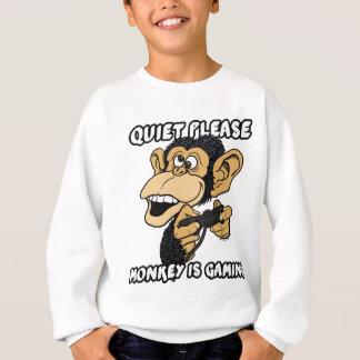 Monkey Is Gaming Sweatshirt