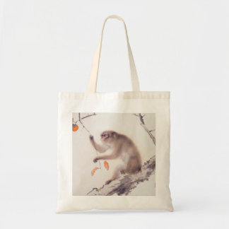 Monkey Japanese Painting - Year of the Monkey Budget Tote Bag