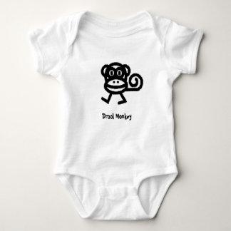 monkey.jpg, Drool Monkey Baby Bodysuit