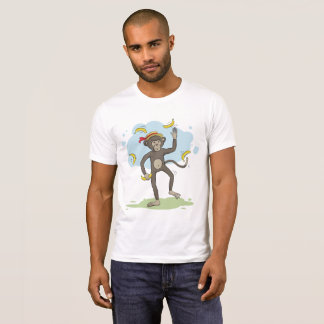 Monkey juggling bananas T-Shirt