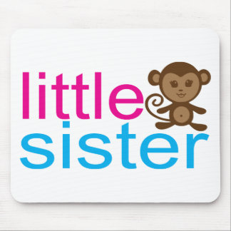 Monkey Little Sister Mousepads