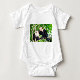 Monkey Love Baby Bodysuit