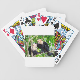 Monkey Love Bicycle Playing Cards