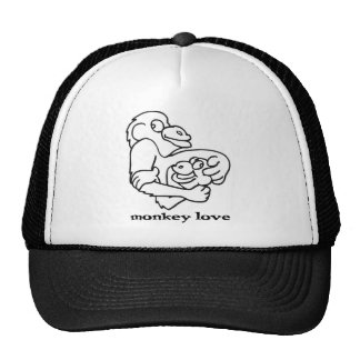 monkey love cap