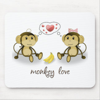 Monkey Love Mousepad