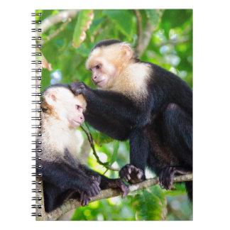 Monkey Love Spiral Notebook