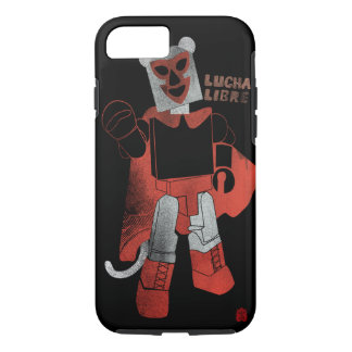 Monkey Lucha Libre Phone case. iPhone 8/7 Case