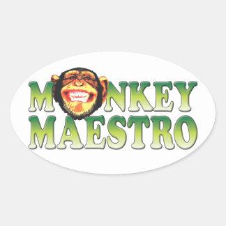 Monkey Maestro Sticker
