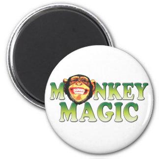Monkey Magic 6 Cm Round Magnet