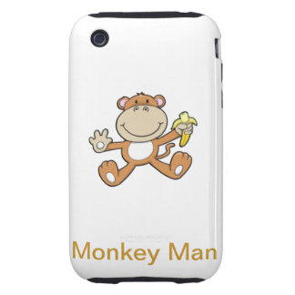 Monkey Man Tough iPhone 3 Cover