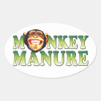 Monkey Manure Stickers
