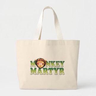 Monkey Martyr Tote Bag