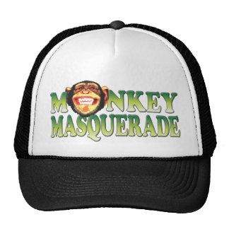Monkey Masquerade Hats