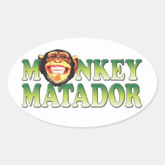 Monkey Matador Sticker