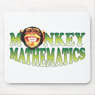 Monkey Mathematics Mouse Pad