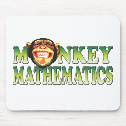 Monkey Mathematics Mousemat