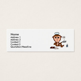 monkey mini business card