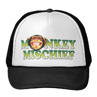 Monkey Mischief Trucker Hats