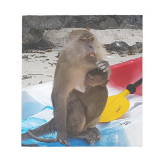 Monkey Mother & Baby Notepad
