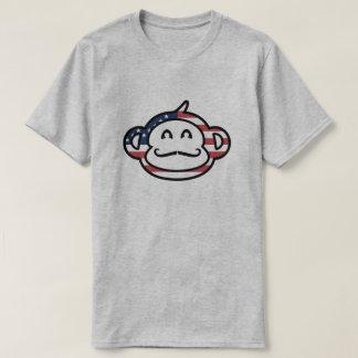 Monkey Mustache T-Shirt