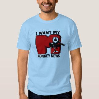 Monkey News Light t-shirt