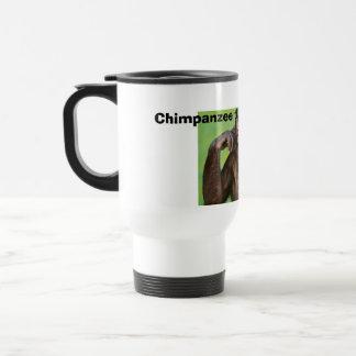 Monkey news! 15 oz stainless steel travel mug