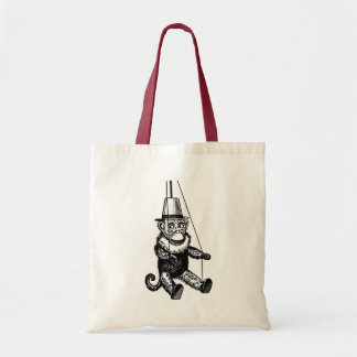 Monkey On A String Tote Bag