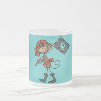Monkey Pirate With Flag Tshirts and Gifts Coffee Mugs
