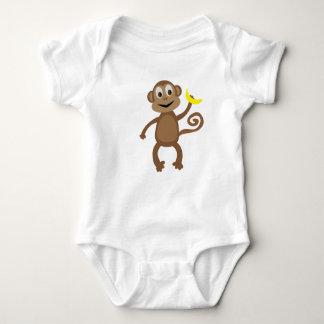 Monkey - Rainforest Baby Baby Bodysuit