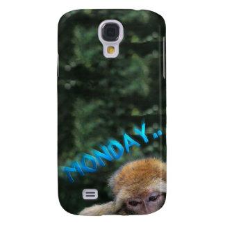 Monkey sad about monday galaxy s4 cover