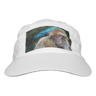 Monkey sad about monday hat