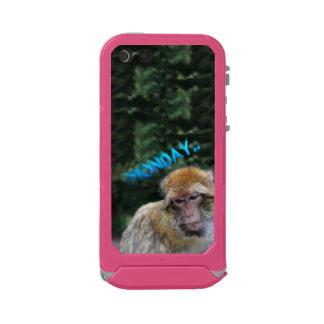 Monkey sad about monday incipio ATLAS ID™ iPhone 5 case