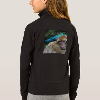 Monkey sad about monday jacket