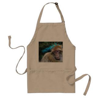 Monkey sad about monday standard apron