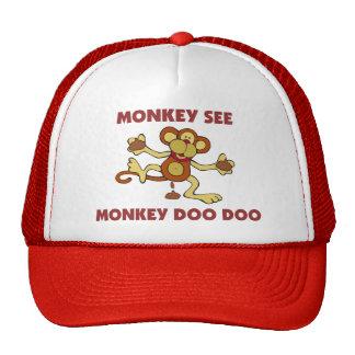 Monkey See & Doo Doo Cap