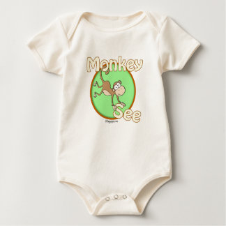 Monkey See Twin Theme Infant & Toddler Shirt