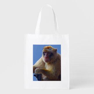 Monkey Shopper Bag