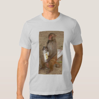 Monkey Show Bottle Close Up T-shirts