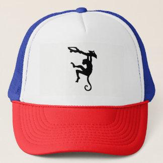 Monkey Silhouette Trucker Hat
