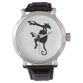 Monkey Silhouette Watch