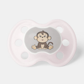 Monkey style infant pacifier