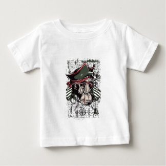 monkey the pirate cute design baby T-Shirt