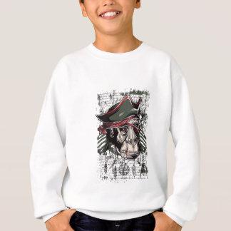 monkey the pirate cute design sweatshirt