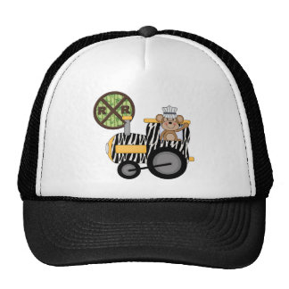 Monkey Train Engineer T-shirts and Gifts Cap